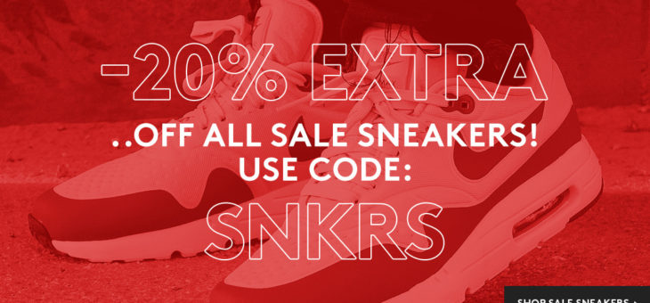 Take an EXTRA 20% OFF Kicks already on sale – Some Real Steals In There