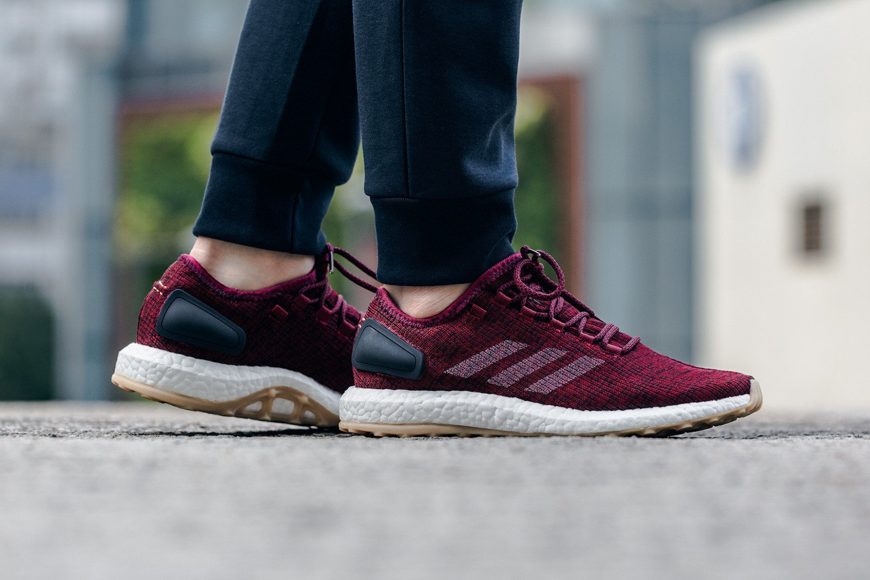 8357ef70f8f7 adidas Pure Boost Burgundy on sale for  88 w Free Shipping - Cop These Kicks