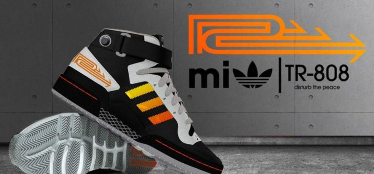 The adidas Neely Air Roland TR-808 pays homage to Hip Hop roots