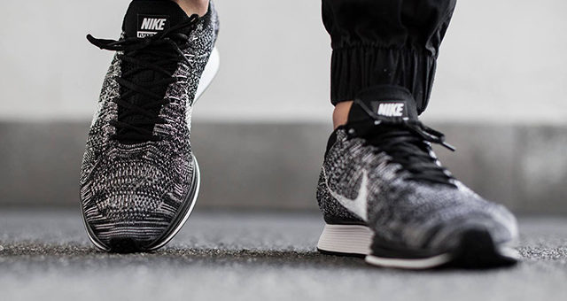 Oreo Flyknit Racer 2.0 on sale for $129.98