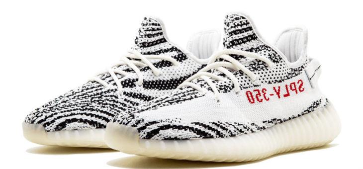 """RESTOCK REMINDER – adidas Yeezy 350 V2 """"Zebra"""""""
