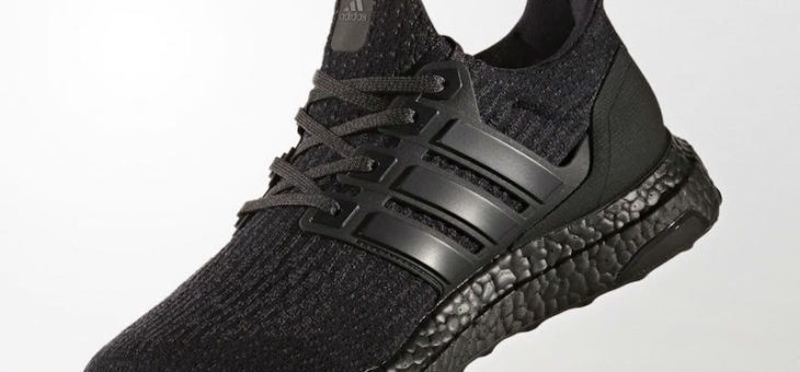 adidas Ultra Boost 3.0 Triple Black Early Release Coming