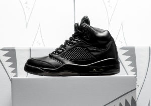 sports shoes cd93d 0a7b8 Jordan Retro 5 Premium Triple Black Links - Cop These Kicks