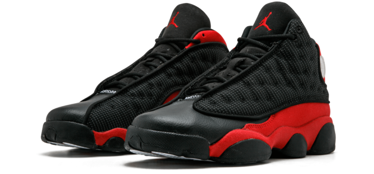 20% off Jordan Retro 13 Bred + Free Shipping
