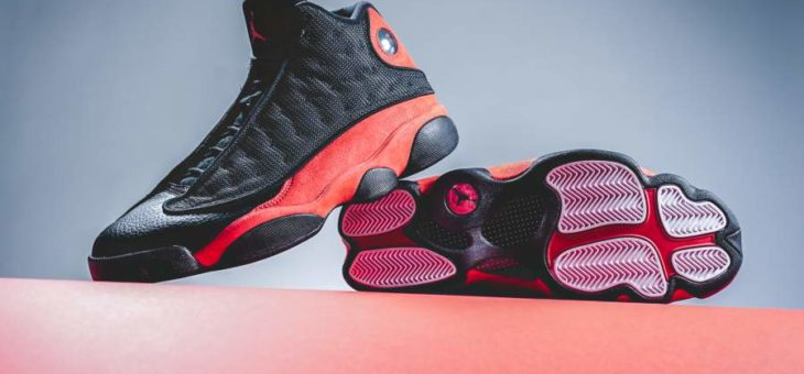 "Grab the Jordan Retro 13 ""Bred"" for only $152 with Free Shipping"