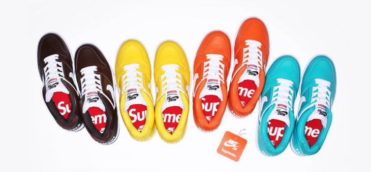 Supreme x Nike SB AF2 Low Release Links