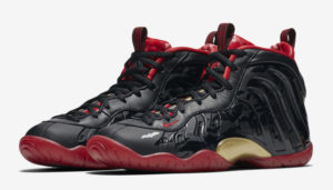 "6d4e09c1ad543 An appropriate release for Friday the 13th is the Nike Lil Posite One  ""Halloween"" also known as ""Dracula"" or ""Vamposite"". The black upper  features red ..."