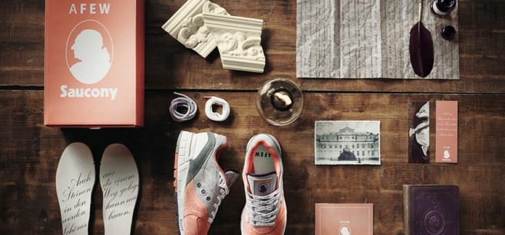 "Afew x Saucony Shadow Master 5000 ""Goethe"" Links"