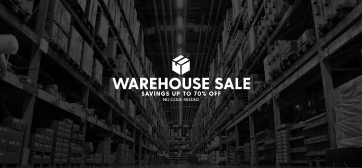 Warehouse Sale – Up to 70% off Kicks
