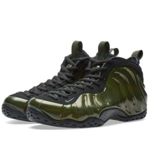 "quality design 5139c c11b9 The Nike Air Foamposite One ""Legion Green"" features an olive green upper  with a slightly holographic overlay."
