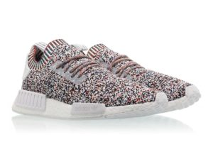 """size 40 1c5f9 251f7 adidas NMD R1 PrimeKnit Multi-Color """"Static"""" (BW1126) Release Date  11 11  2017. Retail   170. Resale   250. Confirmed Releases 11 10 – 6 PM ET  Releases"""