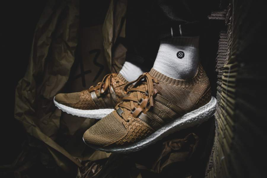 "online store 0f858 e7078 The Pusha T x adidas EQT Support Ultra PK ""Bodega Baby"" sometimes called ""Brown  Paper Bag"" is decked out ..."