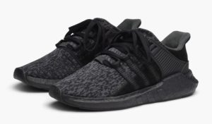 """buy popular e9c20 7893c Adidas is releasing a triple black """"Black Friday"""" collection for 2017.  These all black variations of the iconic EQT will be available on Black  Friday."""