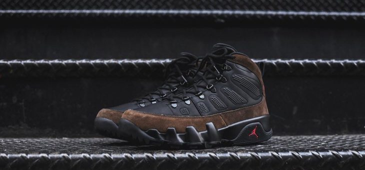 "Air Jordan Retro 9 NRG Boot ""Olive"" Release"
