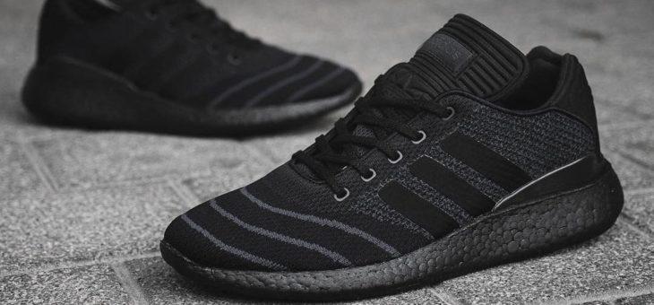 adidas Triple Black Busenitz Primeknit Pureboost on sale for only $100