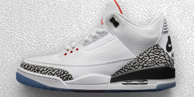 The Jordan Retro 3 '88 Returns in 2018
