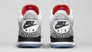 "12b87ccc5607 Now the colorway that started it all is back with a few updated features.  2018 s version of the Jordan Retro 3 White Cement ""1988 Dunk Contest""  features a ..."