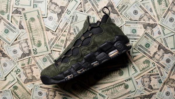 "Nike Air More Money ""US Dollar"" Release Links"