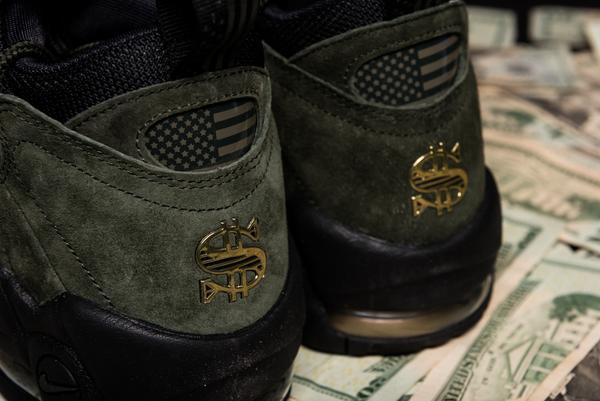 "b923757fd5 Nike is releasing the first of it's Air More Money ""Global Currency Pack""  on Saturday January 6th. The US Dollar AKA ""Mo' Money"" colorway is dressed  in ..."