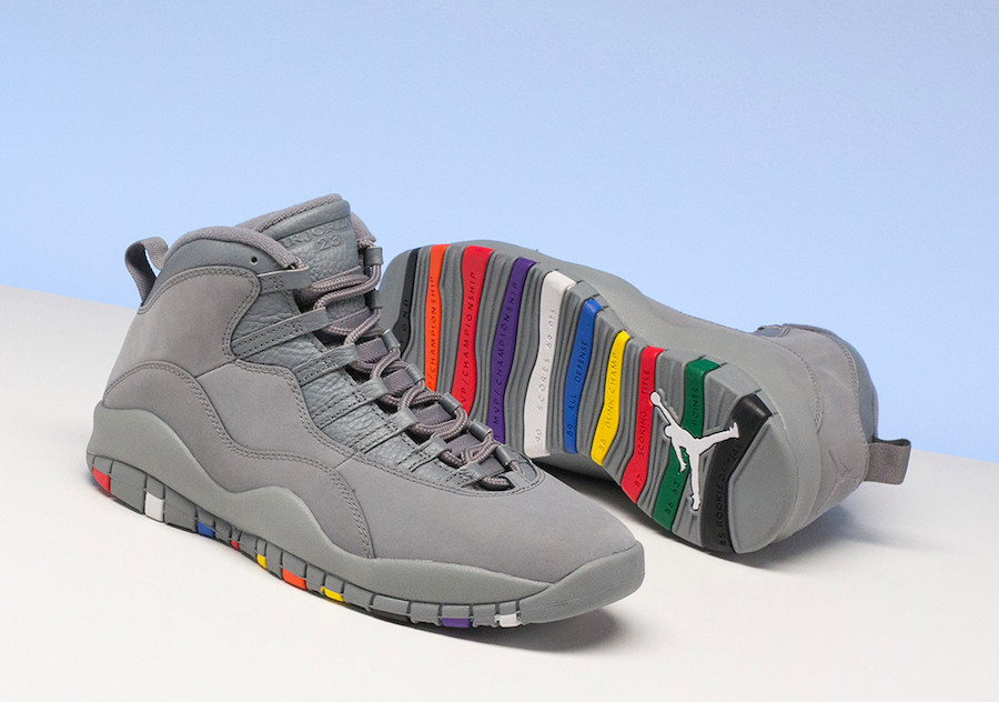 online retailer 1dbad 01cc6 Jordan is releasing the Retro X in a cool grey colorway this Saturday,  January 27th.
