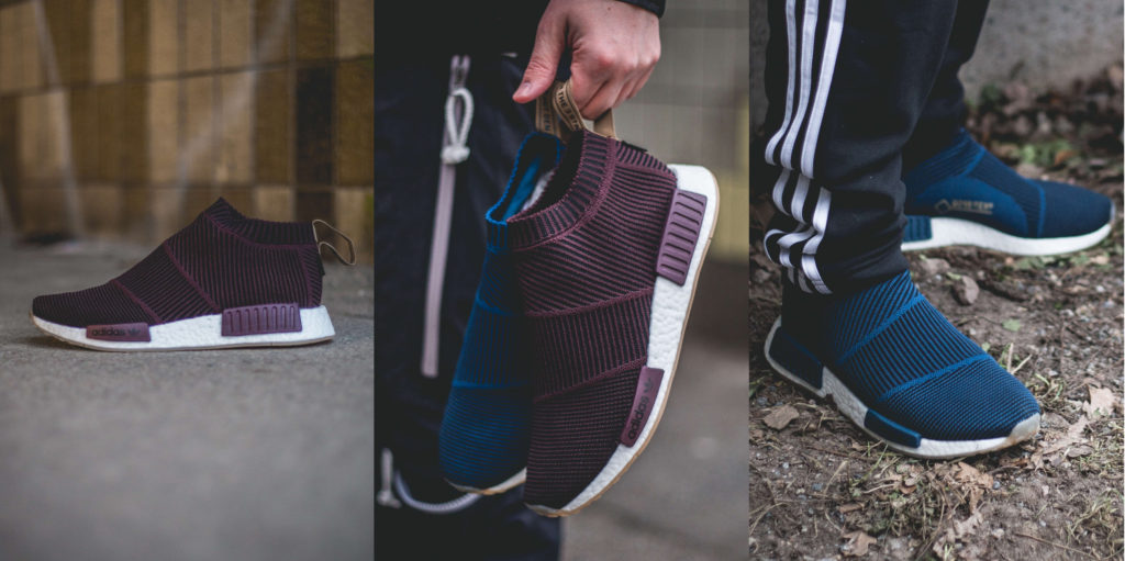 reputable site 3b0df 84e9c Sneakersnstuff is releasing an exclusive pack of the adidas NMDCS1 GORE-TEX  Primeknit. The sns x adidas NMD ...