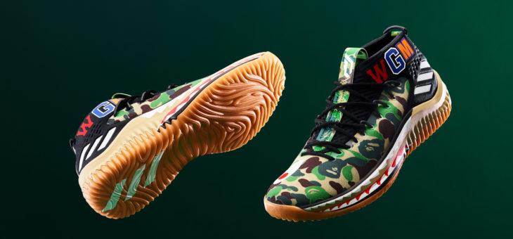 BAPE x adidas Dame 4 Raffles & Release Links