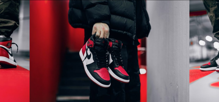 "Air Jordan 1 Retro OG ""Bred Toe"" Raffles"