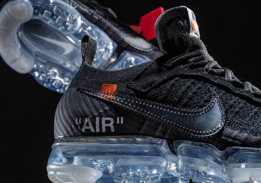 "cfabd5c1159 Off White and Nike continue to roll out limited collaborations as part of  their ""The Ten"" series. The release will be a black VaporMax."