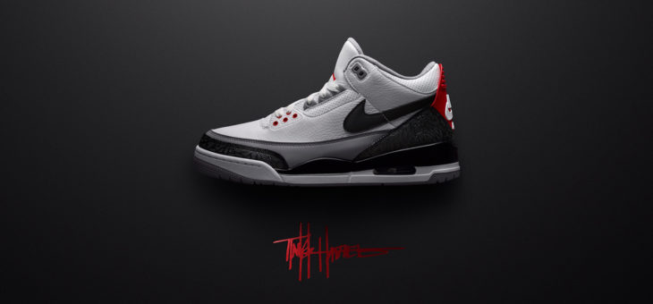 "Air Jordan Retro 3 Fire Red ""Tinker"" Restock"