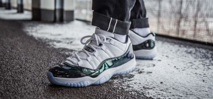 "Jordan Retro 11 Emerald ""Easter"" Under Retail"