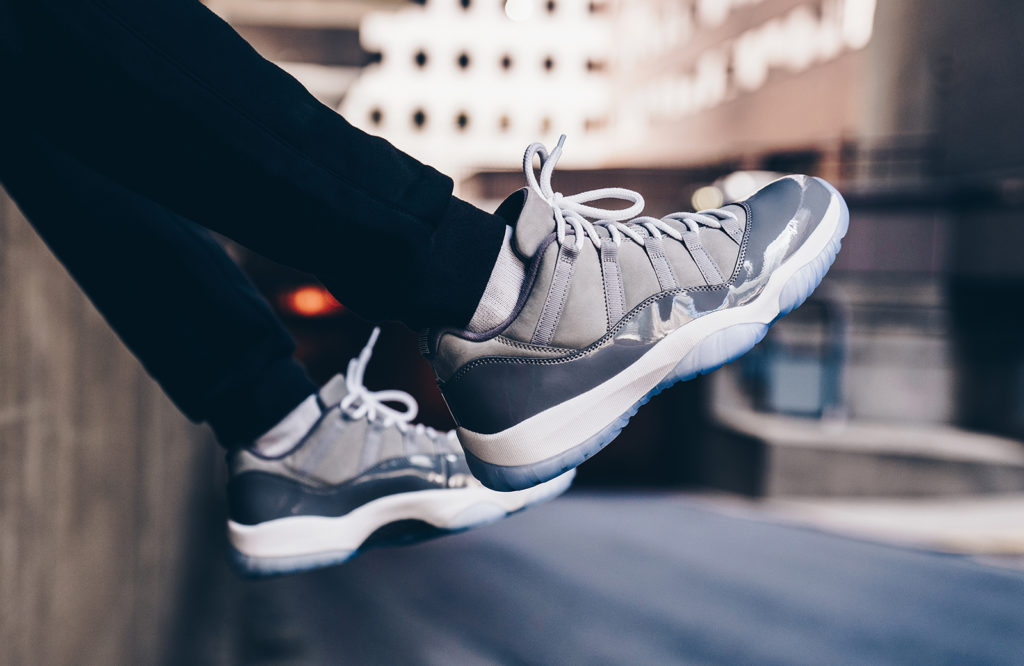 new styles 94520 b5faf Jordan Retro 11 Low Cool Grey Release Info - Cop These Kicks