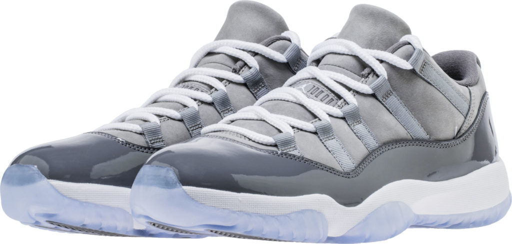 fe6eca722eb6 Jordan Retro 11 Low Cool Grey Release Info - Cop These Kicks