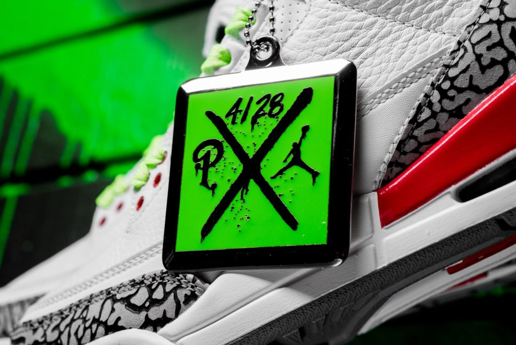 4232f1d56a927a On Saturday April 28th Sneaker Politics will host a special Block Party and  release the Retro 3 Katrina in Mens and GS sizes. Special branded shirts  and ...
