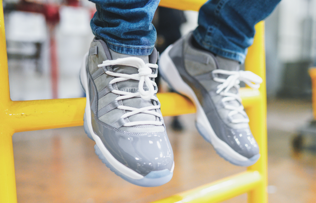 size 40 67cc9 16231 It has been 8 years since Jordan dropped a Retro 11 in cool grey. This  Saturday, they break the streak with a Jordan 11 Retro Low.