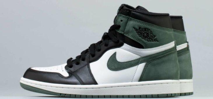 "b60f01b9c69a Air Jordan 1 Retro OG High Clay Green ""Black Toe"" Releasing ..."