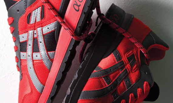 "Asics x BAIT GT-II ""Deadpool"" UNDER RETAIL"