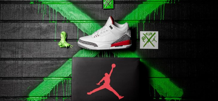 "Jordan Retro 3 ""Katrina"" Early Release"
