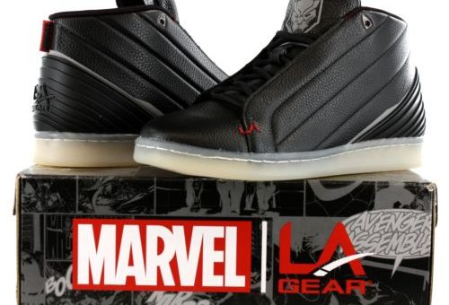 "Marvel x LA Gear Black Panther ""Vibranium"" on sale for just $29.95 w/Free Shipping"