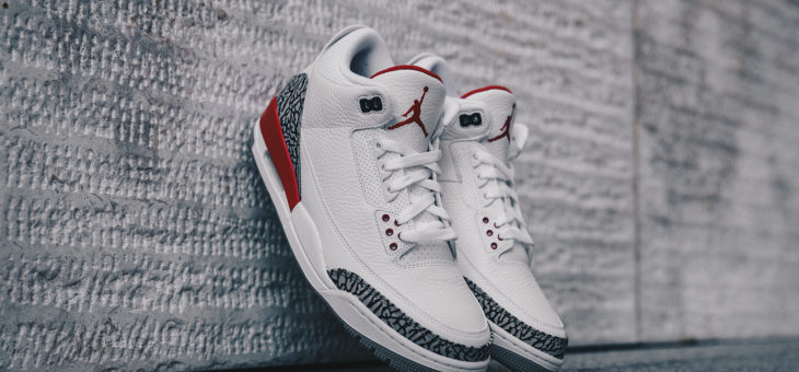 Jordan Retro 3 Katrina North American Release Links