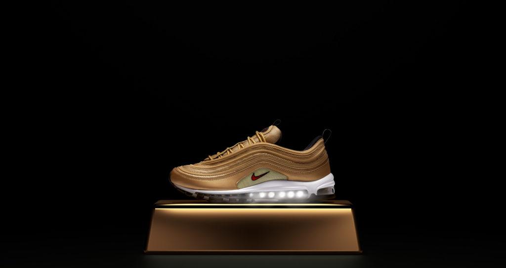 Nike AIR MAX 97 OG QS (Gold) 885691 700 | Jimmy Jazz