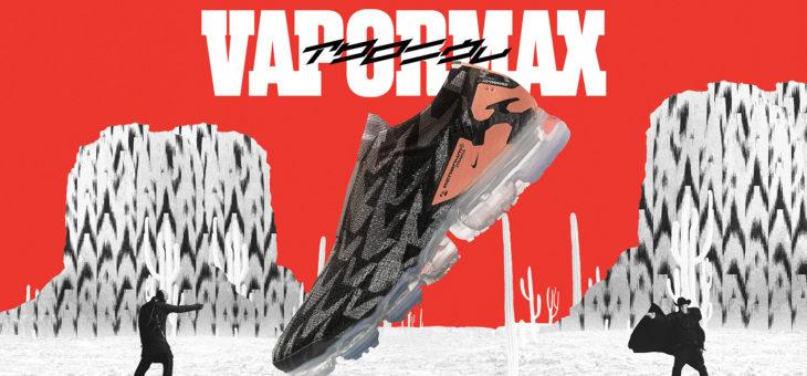 "Acronym x Nike Air VaporMax Flyknit Moc 2 ""Thirsty Bandit"" Release"