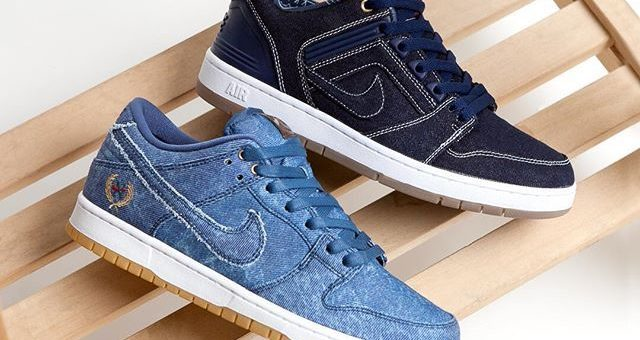 "Nike SB ""East West"" Denim Pack"