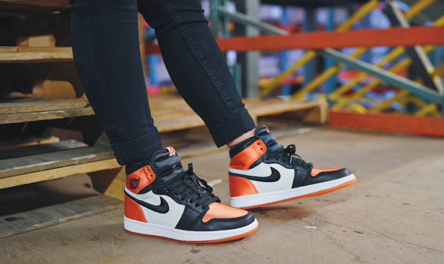 01a9f90765a5e2 The Jordan Retro 1 OG Shattered Backboard will also return with a Satin  finish. This run will be in woman s sizing