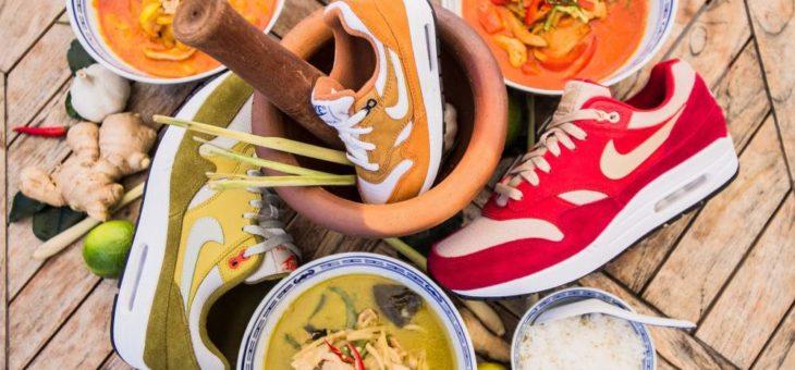 """Atmos x Nike Air Max 1 """"Curry Pack"""""""