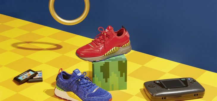 "SEGA x Puma Rs-0 ""Sonic The Hedgehog"" Release"