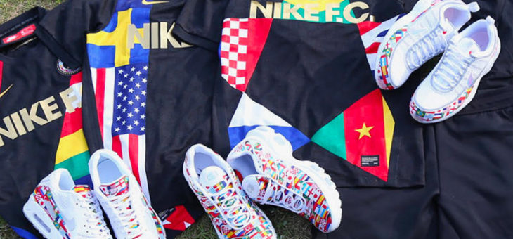 "Nike ""International Flag Pack"" QS World Cup Release"