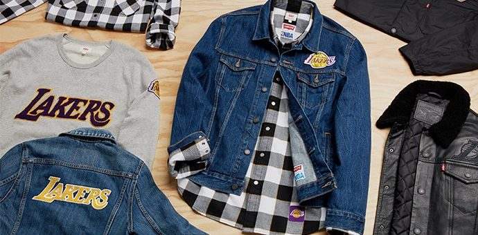 EXTRA 50% off NBA x Levi's Collection