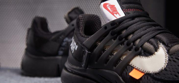 Off White x Nike Air Presto Black Raffles