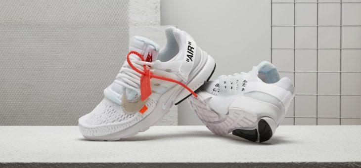 Off White x Nike Air Presto The Ten White Raffles