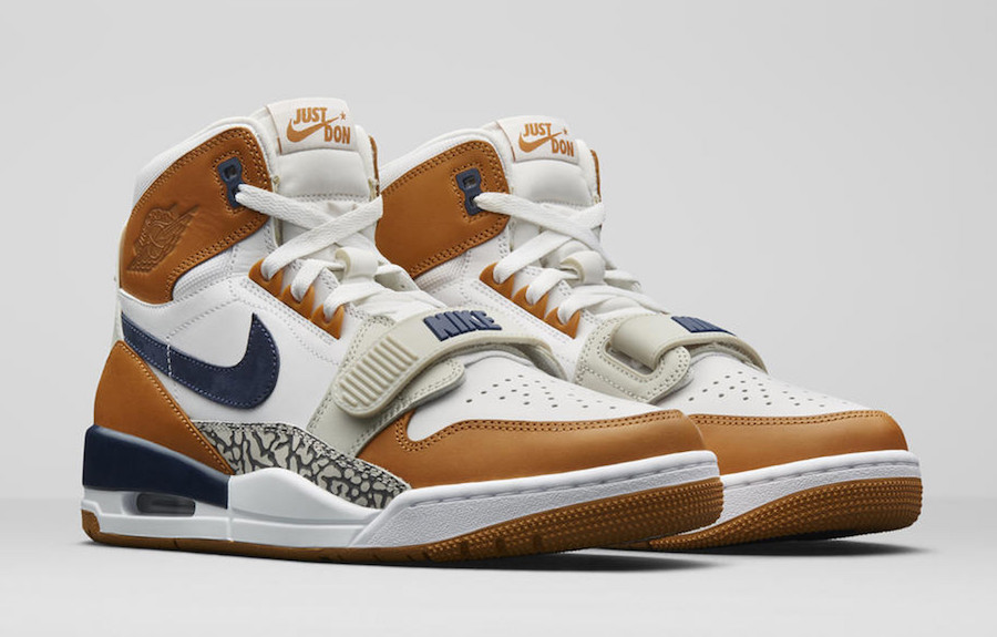 "competitive price 093b3 3848d Don C x Air Jordan Legacy 312 Medicine Ball ""Bo Jackson"" Color   White Midnight Navy-Ginger Style Code  AQ4160-140. Price   150"
